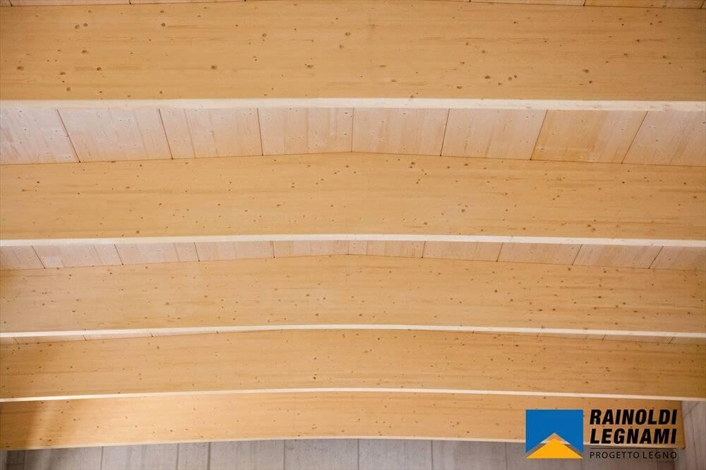 Copertura In Legno Isolata : Copertura in legno lamellare per sottostazione avegno